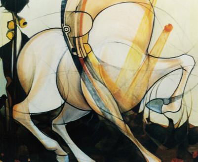 1998. studio per cavalli 30*40 cm