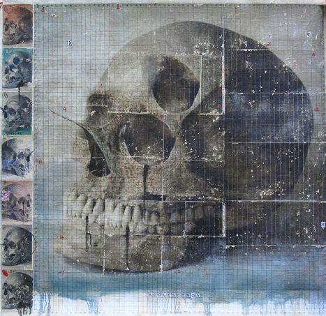 apr 2018. ADOLESCENZA, tecnica mista su tela, 150x130 cm, arazzo